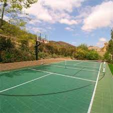 Backyard Tennis Courts by Home Basketball Court Backyard Tennis Courts Basketball Court