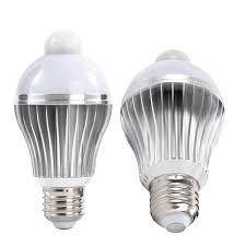 indoor motion sensor light fixture ithird e26 7w led motion sensor light bulb pir infrared indoor