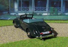 vintage opel cars opel admiral u0026 39 37 cabriolet gläser 1938 model cars hobbydb