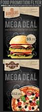 restaurant fast food promotion flyer template on behance food ad