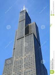 sears willis tower in chicago royalty free stock photo image