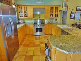 Tile Counters Rustic Kitchen With Simple Granite Tile Counters Bianco Romano