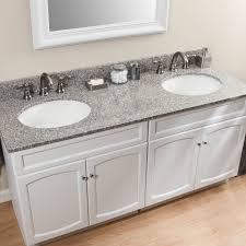 Granite Double Vanity Top 61 U2033 Granite Double Vanity Top With Undermount Sinks Granite