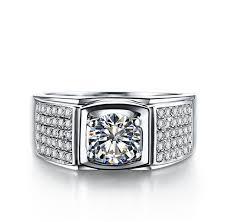 aliexpress buy 2ct brilliant simulate diamond men excellent cut 1ct sona simulate diamond engagement ring