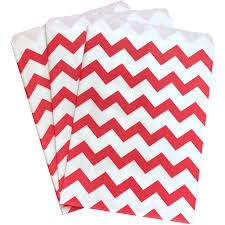 paper favor bags bulk 100 pack and white chevron paper treat favor bags ss