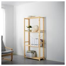 ivar 1 section shelves pine 89x30x179 cm ikea