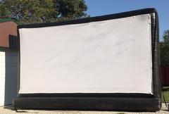 Backyard Movie Night Rental Movie Screen Rentals Inflatable Movie Screens Backyard Bouncers