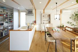 japanese kitchen ideas style simplicity in a japanese countryside prefab home