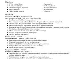 Electrician Resume Example Download Electrician Resume Sample Haadyaooverbayresort Com