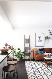 Indigo Dog House At Home With New Darlings West Elm Couch Coffee Table Rug