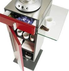 machine à café de bureau meuble suspendu avec rangement pour machine à café cuisine et bureau