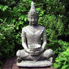 outdoor statues serene buddha with vase garden statues500 x 500 93