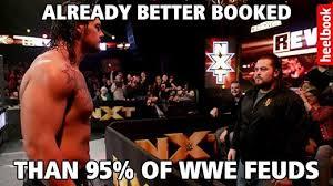 Pro Wrestling Memes - nxt revolution in 11 bona fide wrestling memes heelbook