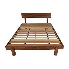 71 off west elm west elm queen size storage platform bed frame