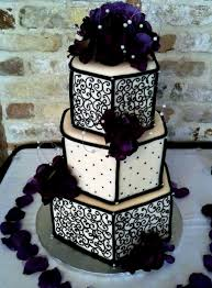 purple and black wedding cakes decorating of party