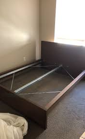 Ikea Bed Frame Ikea Bed Frame Brown Comes With Wooden Bed Base