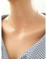 snake necklace choker images Huge deal on 24k gold plated snake chain choker necklace layered