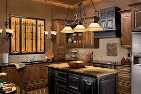 kitchen blonde wooden kitchen island with black granite