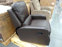 Swivel Glider Chair With Ottoman Design Ideas 77 Leather Swivel Rocker Recliner Pottery Barn Cozy