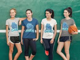 where to order custom basketball jerseys for your team placeit blog t shirt mockup of a group of girls playing basketball by placeit