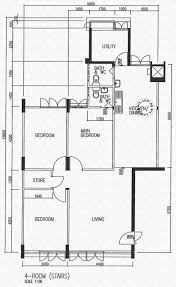 Hdb Floor Plans Floor Plans For Teck Whye Lane Hdb Details Srx Property