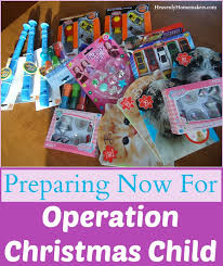 prepare now for operation christmas child