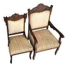 vintage u0026 used victorian side chairs chairish