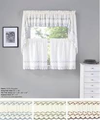 Linen Valance Tiers Cape May Linen