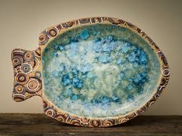 ceramic fish platter 109 best fish images on dishes barrel and boxes
