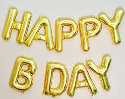 pink happy birthday balloons happy birthday letter balloons