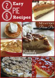 26 easy pie recipes thanksgiving pie bar tradition