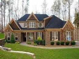 brick home designs