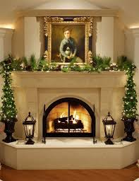 Tall Christmas Decorations For Mantle by 1008 Best Christmas Mantels Images On Pinterest Christmas Ideas