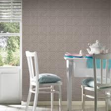 as creation oslo tile pattern wallpaper faux kitchen bathroom 329803
