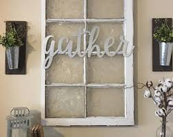 Metal Home Decorating Accents Galvanized Metal Etsy