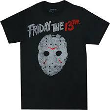 amazon black friday clothing amazon com friday the 13th men u0027s vintage jason mask t shirt black