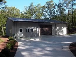 backyard garage backyard metal garage in gainesville ga customer testimonial