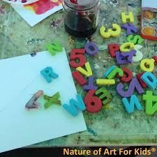 painting alphabet letters preschool kids project official blog