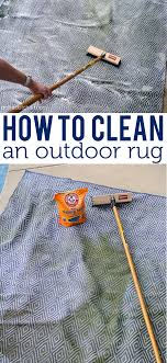 How To Clean An Outdoor Rug To Clean An Outdoor Rug On Polka Dot Chair