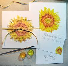 sunflower wedding invitations sunflower wedding invitations the wedding specialiststhe wedding