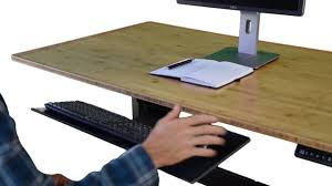 Computer Desk With Adjustable Keyboard Tray Kt1 Adjustable Ergonomic Desk Keyboard Tray Negative Tilt