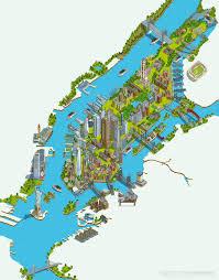 Nyc Neighborhoods Map Circle Line Sightseeing Cruises New York Map 2017 On Behance
