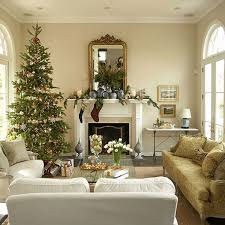 Christmas Decoration For A Living Room by Inspirational Christmas Decorated Interiors