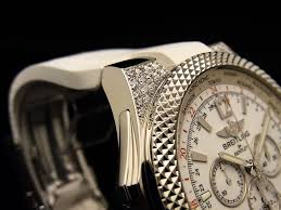 breitling bentley tourbillon breitling with factory diamonds