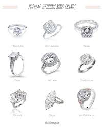 wedding rings brands popular wedding engagement ring brands co harry