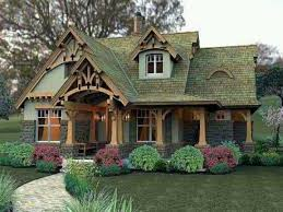 cottage house plans one story cottage style house plans plan with wrap around porch walkout