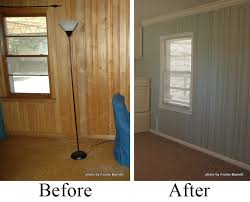 Best Way To Paint Beadboard - using chalk paint on wood panel walls google search home