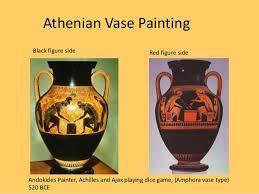 Greek Black Figure Vase Painting Martino Ancient Greece