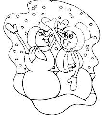 58 winter images coloring pictures kids