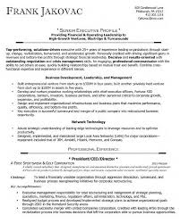 Executive Officer Resume Sample Ceo Resumes Resume Cv Cover Letter